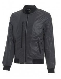 Guess chaqueta bomber para hombre negra