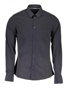 Camisa Guess para hombre con estampado fantasía - negro