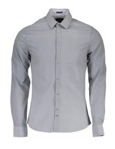 Camisa Guess para hombre con estampado fantasía - gris