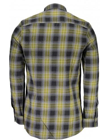 Camisa Guess para hombre en cuadros...