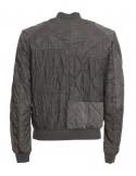 Blauer chaqueta bomber para hombre - gris intenso