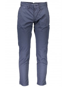 Trussardi pantalón tipo chinos para hombre - marino
