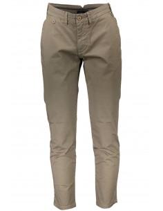 Trussardi pantalón tipo chinos para hombre - kaki