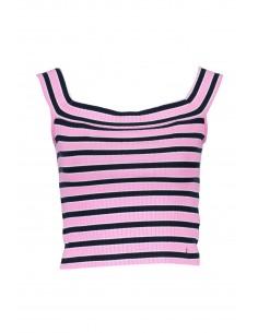 camiseta-guess-para-mujera-rayas-rosa