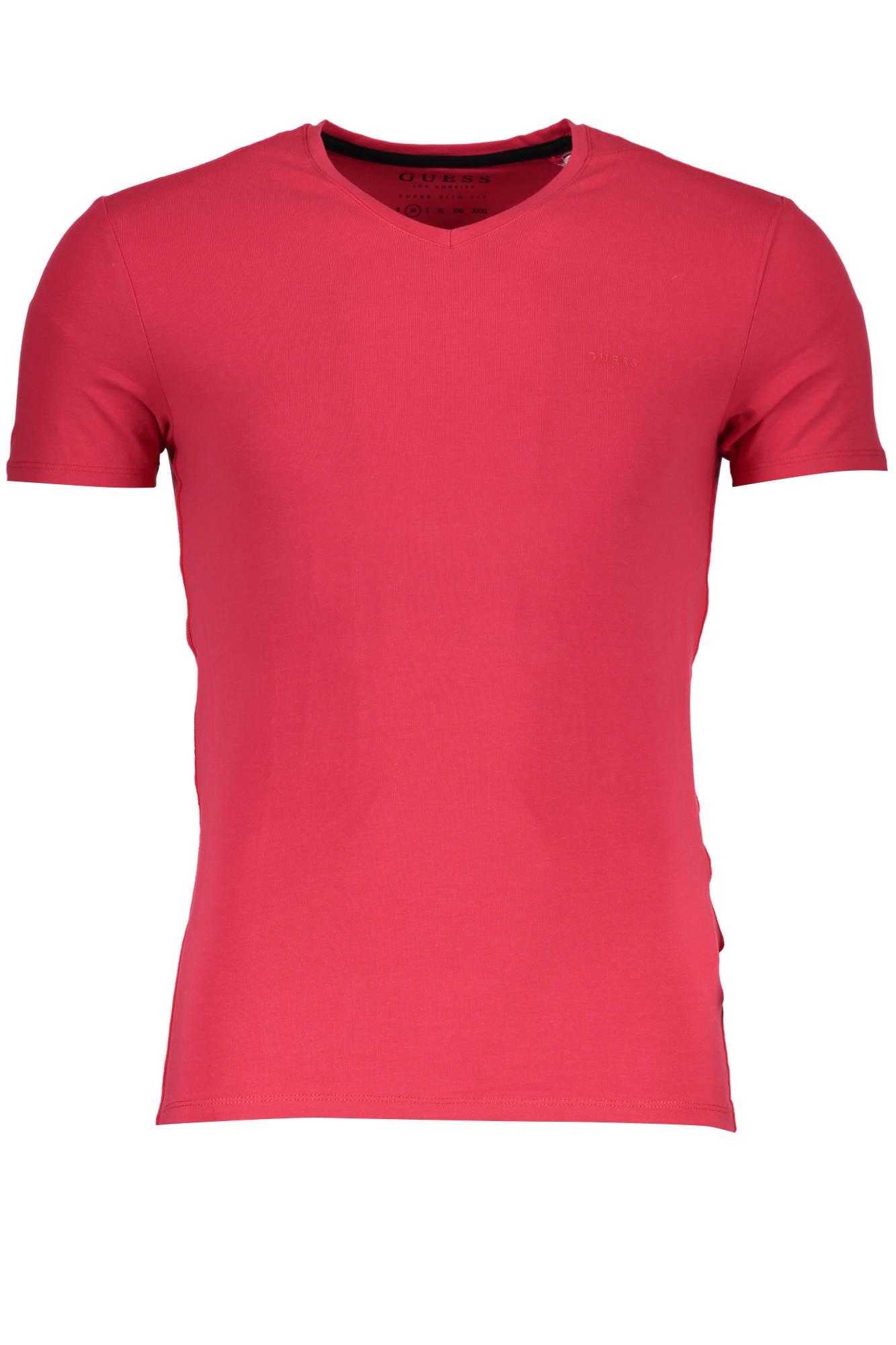 Camiseta Guess para hombre rojo