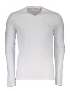 camiseta-guess-para-hombre-manga-larga-blanco