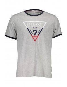 camiseta-guess-para-hombre-logo-gris