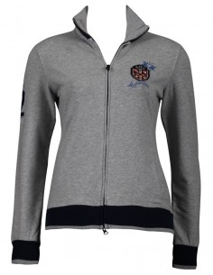 TALLA M Cardigan La Martina para mujer - athletic grey