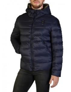 Blauer chaqueta acolchada para hombre - marino