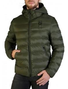 Blauer chaqueta acolchada para hombre - kaki
