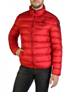 Blauer chaqueta acolchada para hombre - red