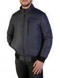 Refrigue chaqueta para hombre tipo bomber - gris