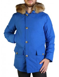 Refrigue parka para hombre invernal con capucha - royal