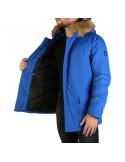 Refrigue parka para hombre invernal con capucha - royal