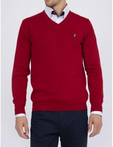 Jersey Sir Raymond Tailor para hombre - rojo