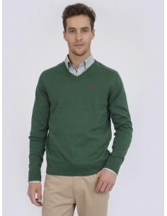 Jersey Sir Raymond Tailor para hombre - verde