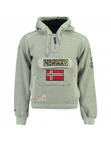 Geographical Norway sudadera NIÑO - GYMCLASS blended grey
