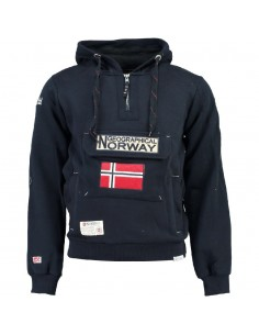 Geographical Norway sudadera NIÑO - GYMCLASS navy