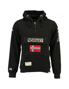 Geographical Norway sudadera NIÑO - GYMCLASS black