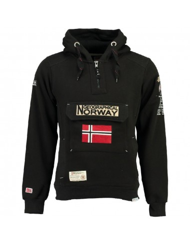 Geographical Norway sudadera NIÑO - GYMCLASS black