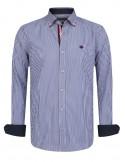 Sir Raymond Tailor camisa para hombre navy diplomática