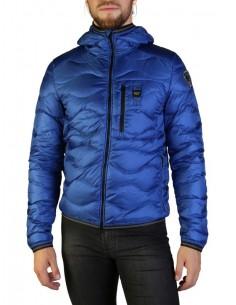Blauer chaqueta acolchada para hombre - royal blue