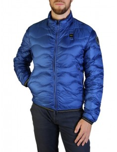 Blauer chaqueta acolchada para hombre - royal