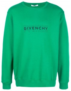 Givenchy sudadera hombre logo frontal - verde