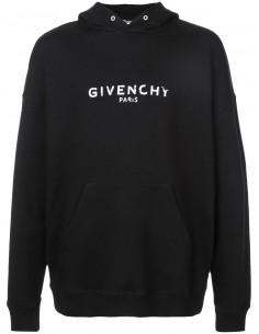 Givenchy sudadera para hombre aged - negra