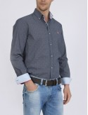 Sir Raymond Tailor camisa hombre - printed navy