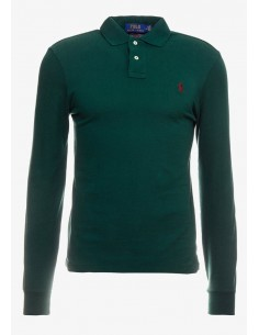 Polo manga larga small pony green/red