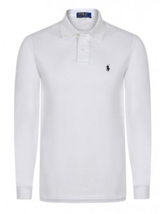 Polo manga larga small pony blanco