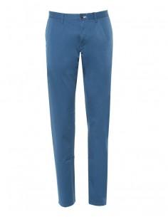 Gant - pantalón chino para hombre slim fit - azul