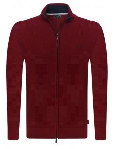 Cardigan Sir Raymond Tailor tricot - rojo
