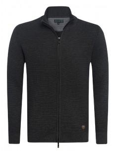 Cardigan Sir Raymond Tailor tricot - antracita