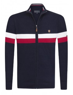 Cardigan Sir Raymond Tailor tricot - Moncler style
