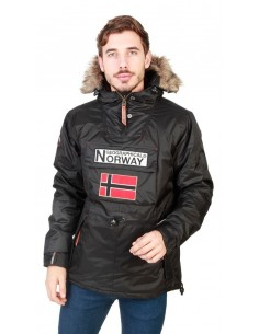 Canguro Geographical Norway Boomerang - black
