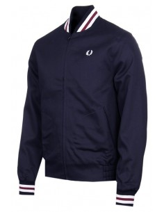 Fred Perry chaqueta Bomber hombre - navy/white/red