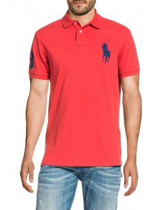 Polo big pony hombre - red/navy