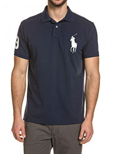 Polo big pony hombre - navy/white
