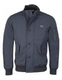 Lacoste chaqueta bomber para hombre acolchada - navy
