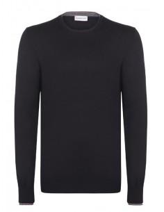 Jersey de cuello redondo Moncler - Black