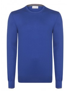 Jersey de cuello redondo Moncler - Azul