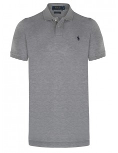 Polo manga corta small pony - Grey/navy