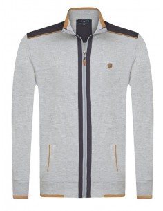 Sir Raymond Tailor sudadera con cremallera - grey exclusive