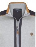 Sir Raymond Tailor sudadera con cremallera - grey exclusive
