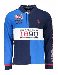 Polo rugby US POLO ASSN para hombre uk flag navy