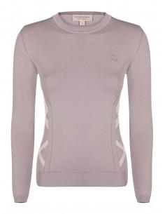 Burberry jersey para mujer icónico - beige
