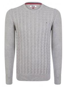 Hilfiger Denim jersey trenzado grey