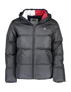 Tommy Hilfiger chaqueta plumón para hombre capucha - negra